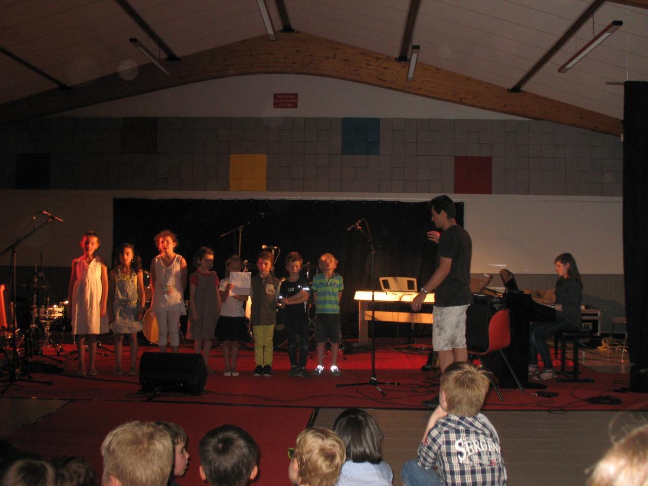 Cédric et la formation musicale 1