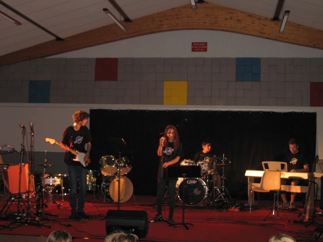 Robin , Zoé , Arnaud , Raphaël