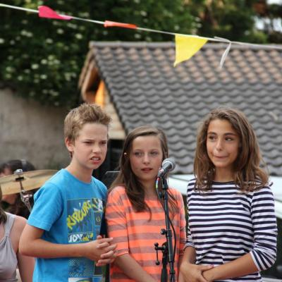 Hugo, Julie et Zoé